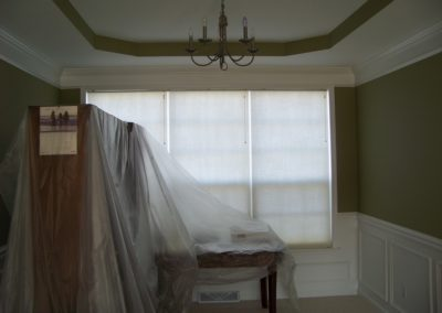 Dining Room Interior Custom Painting (2)