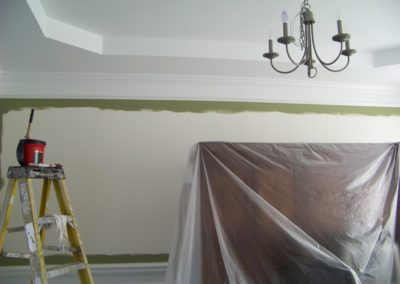 Dining Room Interior Custom Painting (3)