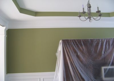 Dining Room Interior Custom Painting (4)