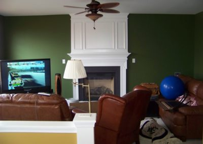 Dining Room Interior Custom Painting (6)