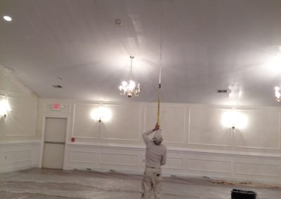 Free Will Baptist Chruch Commercial Painting during (12)