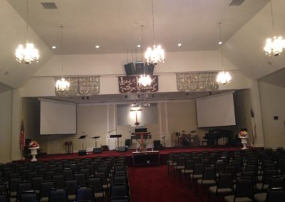 Free Will Baptist Church Commercial Painting (4)